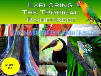 Exploring the Tropical Rainforest Biome Power Point Presentation