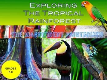 Exploring the Tropical Rainforest Biome Power Point Presentation