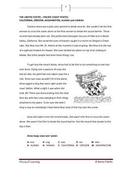 Exploring the Western Hemisphere Using Literature and Mnemonics