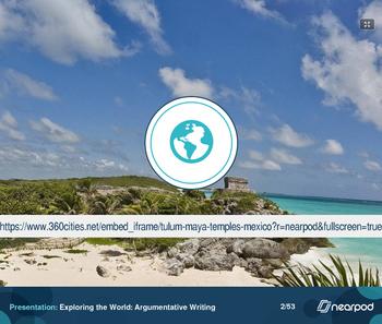 Exploring the World: Argumentative Writing