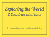 Exploring the World Research Project: Differentiated for ELL students