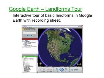 Exploring Landforms with Google Earth