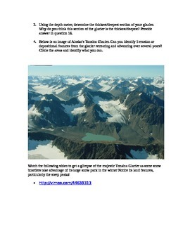Exploring the motion and effects of Glaciers