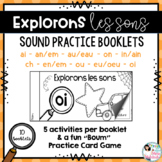 Explorons les sons! French Sound Practice Booklets