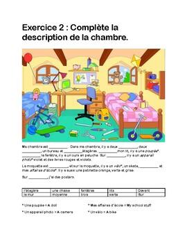 Expo 1 Prepositions De Lieux Mini Test Module 1 Et 2 Tpt