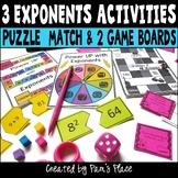 Exponents Activities