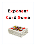 Exponent Card Game