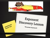 Exponent Game and Discovery Lesson Notes