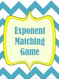 Exponent Matching Game