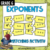 Exponent Matching Puzzle Pieces