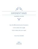 Exponent Maze
