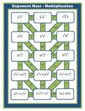 Exponent Maze - Multiplication