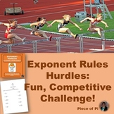 Exponent Rules Hurdles Math 8.EE.1 Practice Algebra Differ