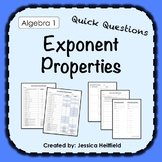 Exponent Properties Activity: Fix Common Mistakes!