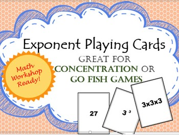 Exponent Playing Cards