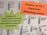 Exponent - Powers of 10 Matching Game Decks (3)