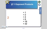 Exponent Products