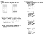 Exponent Properties Book