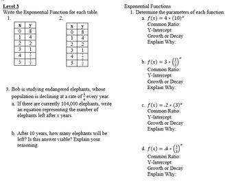 Exponent Properties Book