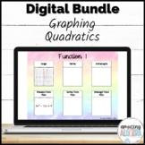 Graphing Quadratics DIGITAL Activity Bundle - Distance Learning