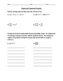 Exponent Properties Practice