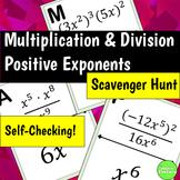 Exponent Properties Scavenger Hunt Activity