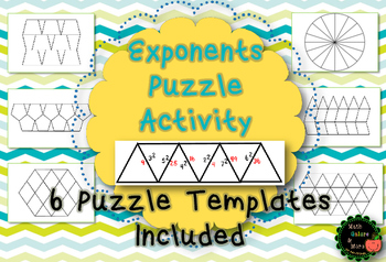 Exponent Puzzle Activity