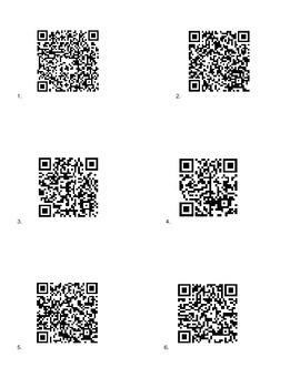 Exponent QR Codes