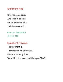 Exponent Rap