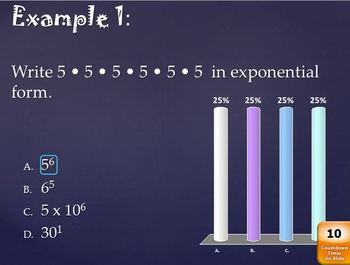 Exponent Review (Interactive Power Point)