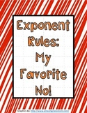 Exponent Rules Activity