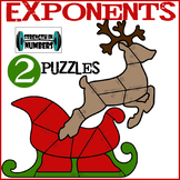 Exponent Rules 2 Cooperative Christmas Holiday Puzzles