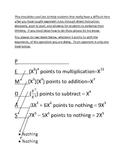 Exponent Rules Acronym