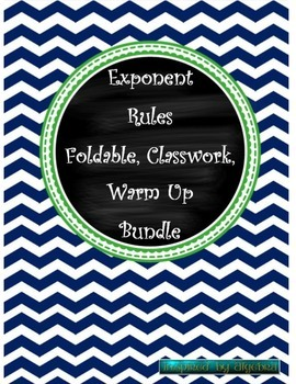 Exponent Rules Bundle