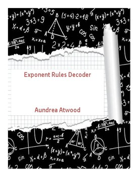 Exponent Rules Decoder