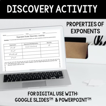 Properties of Exponents Discovery Activity