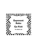 Exponent Rules Go Fish!