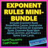 Exponent Rules Mini Bundle