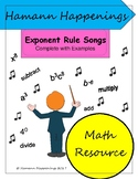 Exponent Rules Songs