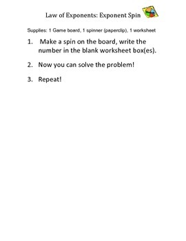 Exponent Spin!