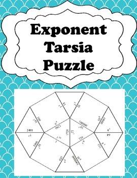 Exponent Tarsia Puzzle - Game