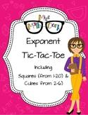 Exponent Tic Tac Toe