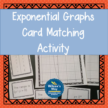 Exponential Card Graph Matching Activity
