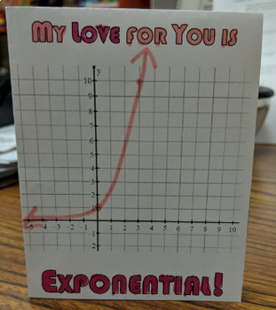 Exponential Card - Valentine's Day, Mother's Day