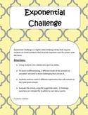 Exponential Challenge (exponent properties)