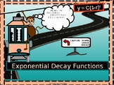 Algebra Power-point:  Exponential Decay Functions in Algebra with GUIDED NOTES