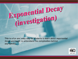 Exponential Decay (investigation)