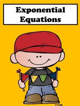 Exponential Equations: No Prep Lesson
