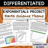"""Exponential Equations Project """"Algebra in Earth Science"""""""