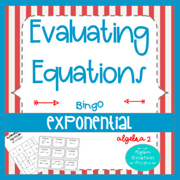 Log And Exponential Equations Teaching Resources | Teachers Pay Teachers